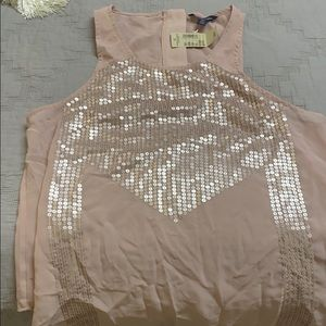 American Eagle Sequin Tank
